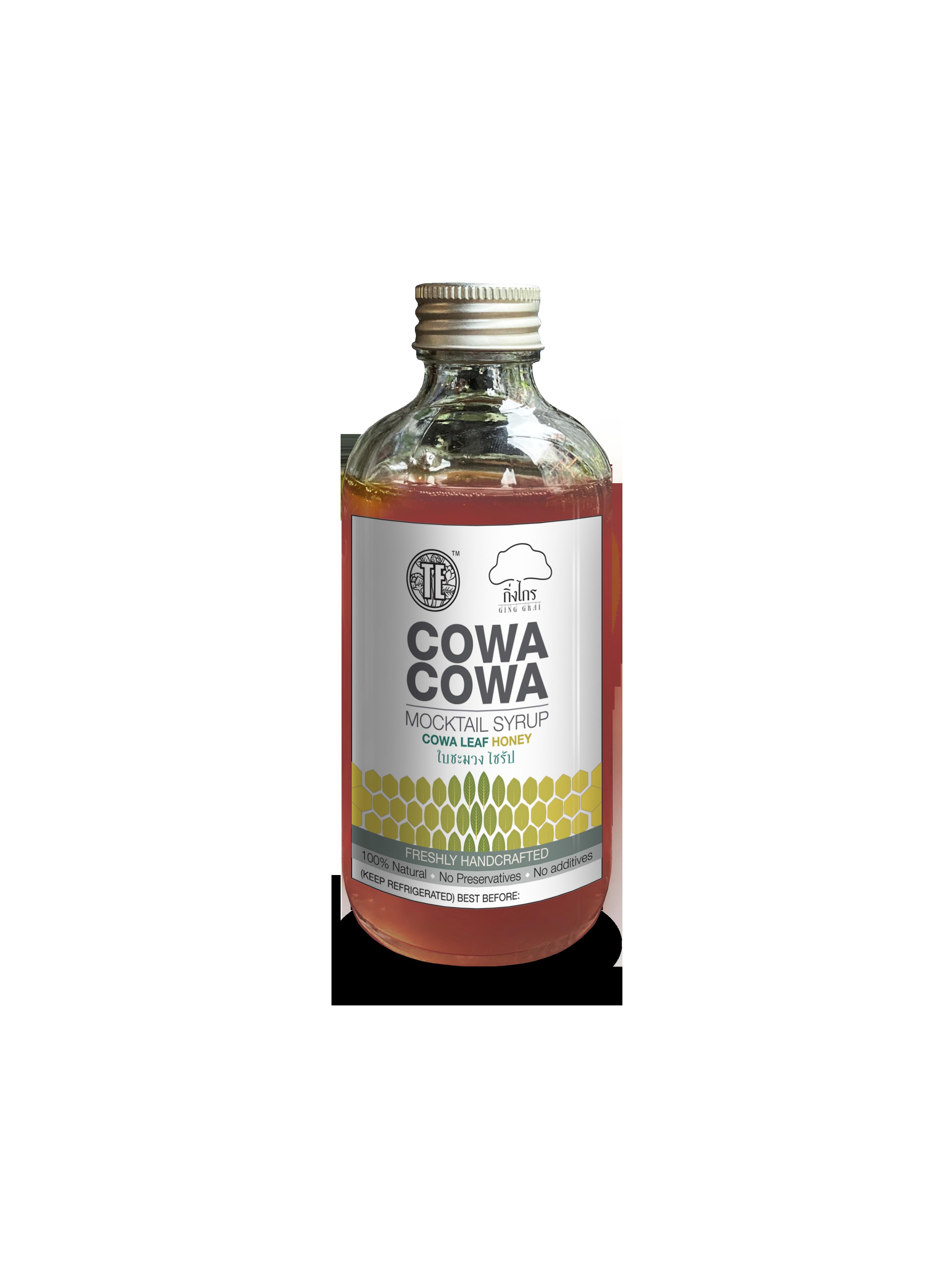 Cowa Cowa Mocktail Syrup ใบชะมวงไซรัป
