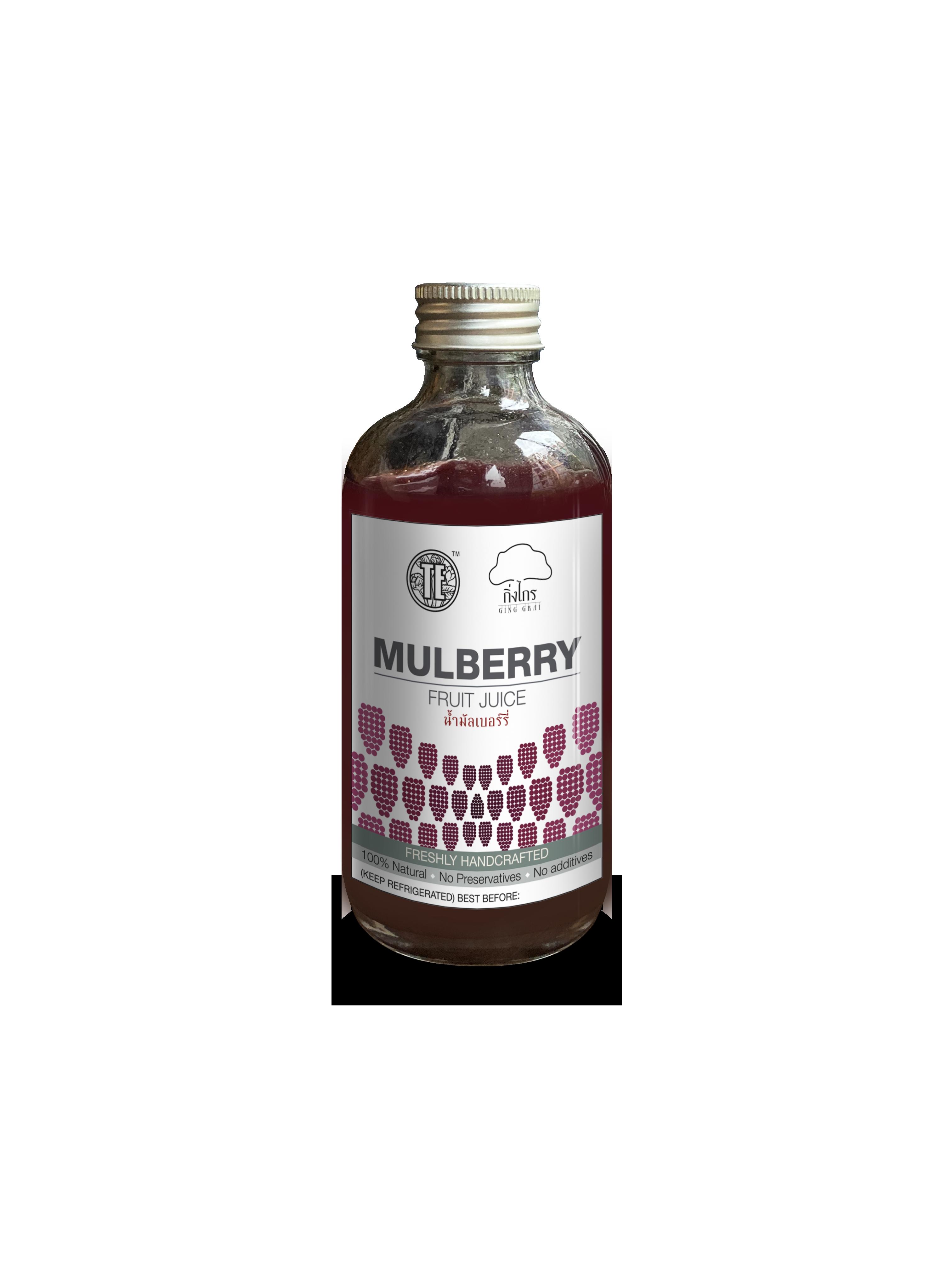 Mulberry Fruit Juice น้ำมัลเบอรี่